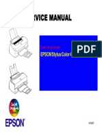 Stylus Color 440 Service Manual