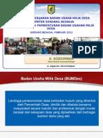 Konsep Dan Kebijakan Badan Usaha Milik Desa