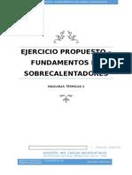 SOBRECALENTADORES Teoría y Problema Práctico