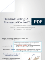 Chapter 10 - Standard Costing