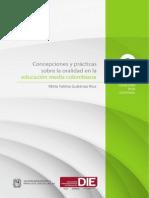Concepciones y Practicas Sobre La Oralidad en La Educación Media Colombiana