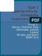 Type 1 Hypersensitivity