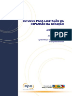Relatório de Otimização - Belo Monte