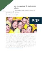 Tercer Congreso Internacional de Síndrome de Down Será en Pasto