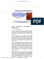 Corrientes Dependentista y Estructuralista