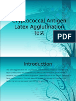 Cryptococcal Antigen Latex Agglutination test JOSEPH.ppt