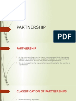 Partnership Report