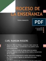 Proceso de Enseñanza de Carl Rogers