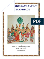 The Hindu Sacrament of Marriage