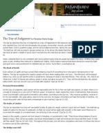 The Day of Judgment - Understanding Islam