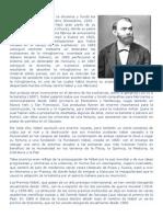 Alfred Nobel Biografia