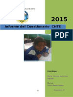 Informe Respectivo Del Test CHTE