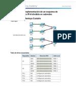 9 3 1 4 Packet Tracer Implementacion de Un Esquema de Direccionamiento IPv6 Con Subredes