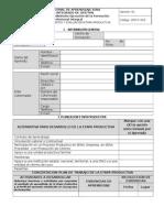 GFPI-F-023 Formato Planeacion Seguimiento y Evaluacion Etapa Productiva