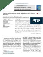 Caracterización de la flotación de PET y PVC en presencia de diferentes plastificantes