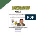 Conferencia en el ISAP en Octubre 8 2015