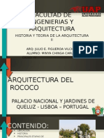 Tema Numero 5 _ Palacion Nacional y Jardines de Queluz _ Rococo