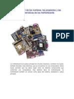 Identificación de Motherboards