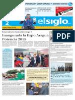 Edicion Impresa El Siglo 02-10-2015