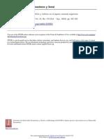 Intimidad y esfera pública. Política y cultura en el espacio nacional argentino
