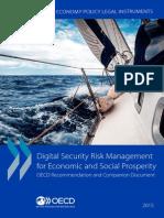 OECD Digital Security Risk Management