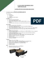 Catalogo Muebles 2013