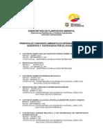 Convenios Ambientales Ratificados 2009