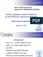 Control Systems Asset Protection