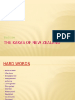 The Kakas Of New Zealand.pptx