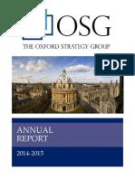 osg annual report 2014-2015