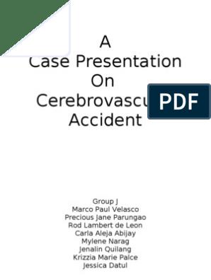 scribd case study cerebrovascular accident