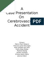 stroke patient case study presentation