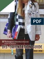 WUSTL Dis Orientation Guide 2015 2016