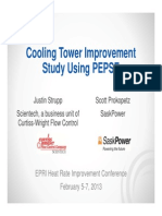 Cooling Tower Improvement Study Using PEPSE