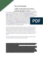 Crisis Energética en Venezuela