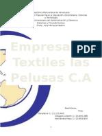 Trabajo de Textiles Las Pelusas Flujogramas