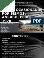 Daños Ocasionados Por Sismos- Ancash 1970