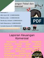 Laporan Keuangan Fiskal Dan Komersial Ppt