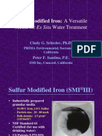 w Sulfur Modified Iron a Versatile Media for Ex Situ Water Treatment