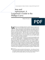 A Layperson's Guide to the Phillips Curve (1)