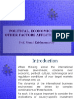 l6 Political Economical and Other Factors Affecting Mncs