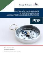 Klimastudie zur Erreichung der Klimaziele für Deutschland 2020