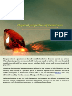 Physical Properties of Gemstones