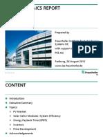Photovoltaics Report