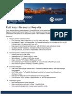 FY15 Market Release