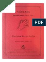 SCAN Ngulaig Tickner Monograph 1991