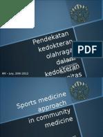 Kedokteran Olahraga Dalam Kedokteran Komunitas-200712