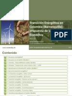 Transición Energética en Colombia (Barranquilla) - Ecotechsy