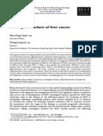 Serological Markers of Liver Cancer