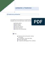 Trastornos Primarios y Secundarios